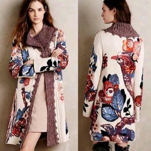 ❤HP Anthropologie Sweater Coat Foret Cardigan